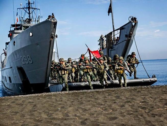 Đặc nhiệm Mỹ - Philippines tiến hành tập trận chung