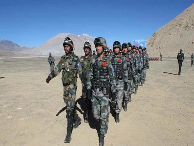 Trung Quốc - Ấn Độ khởi động tập trận 'Tay trong tay'