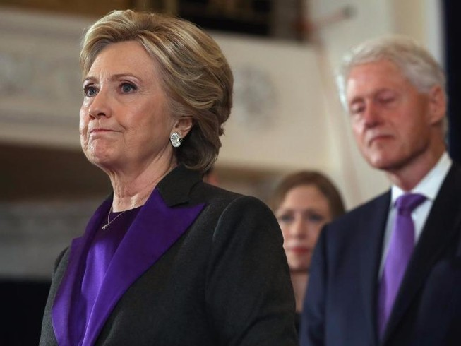 Bà Clinton hơn ông Trump gần 1,5 triệu phiếu phổ thông