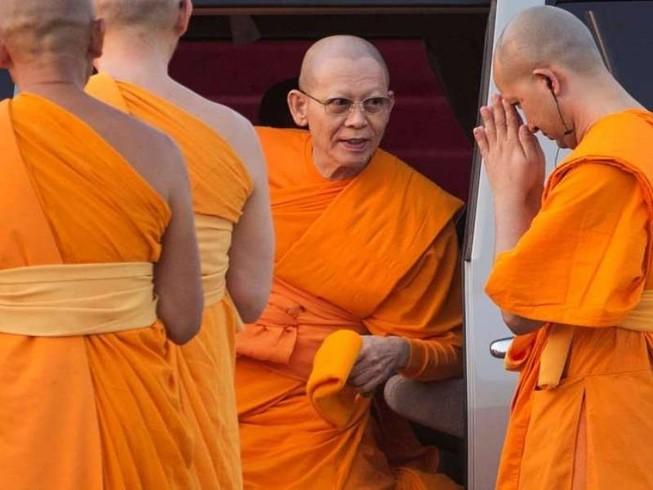Sư trụ trì Thái Lan sẽ bị truy tố tội rửa tiền