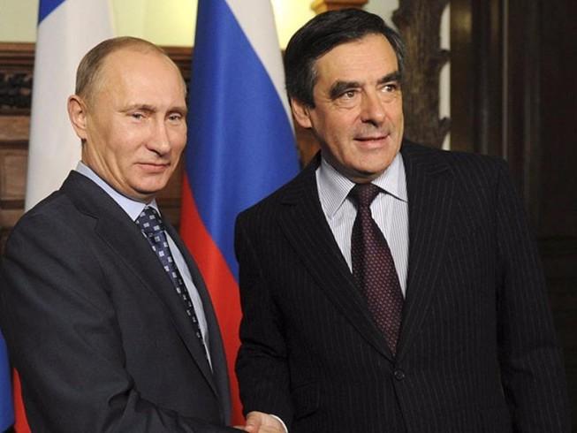 Tổng thống Putin ủng hộ ứng cử viên tổng thống Pháp