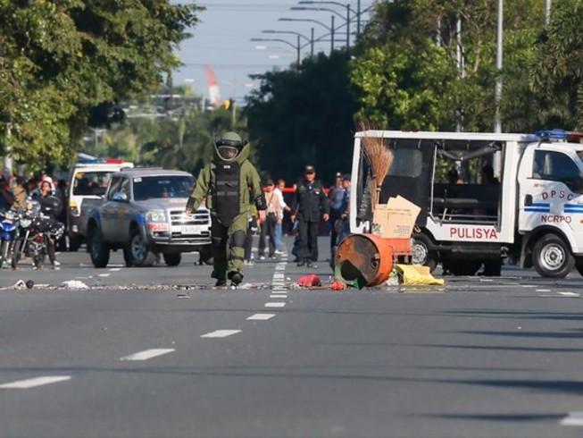 Manila: Phát hiện vật nghi bom tự chế kế đại sứ quán Mỹ