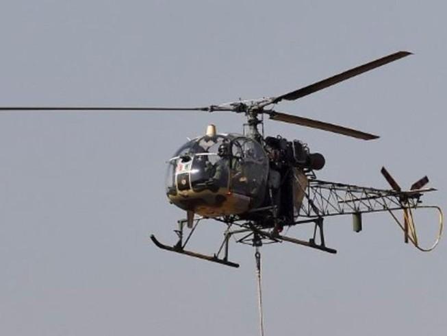Ấn Độ: Rơi trực thăng quân sự, 3 người chết