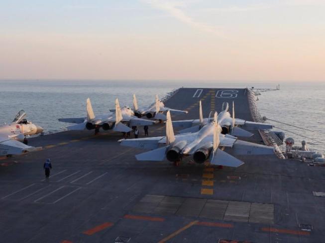 Trung Quốc điều tàu sân bay tới Tây Thái Bình Dương