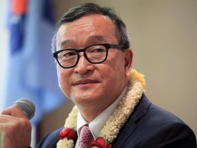 Lãnh đạo đảng đối lập Sam Rainsy lãnh 5 năm tù