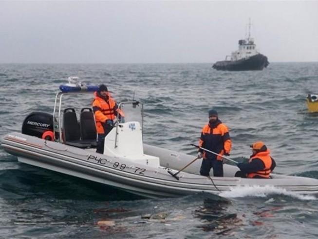 Tìm thấy hộp đen máy bay Tu-154 gặp nạn của Nga