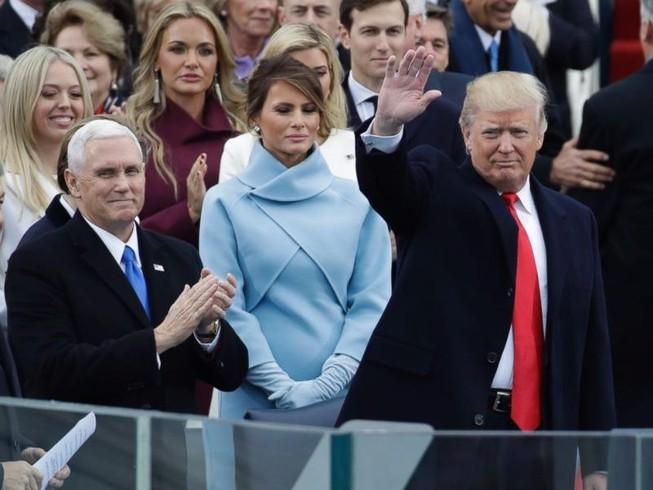 Ông Donald Trump chính thức nhậm chức Tổng thống Mỹ
