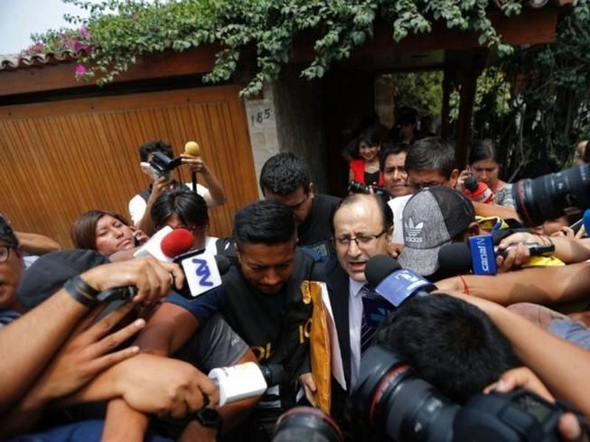 Peru ra lệnh tạm giam cựu tổng thống vì tham nhũng