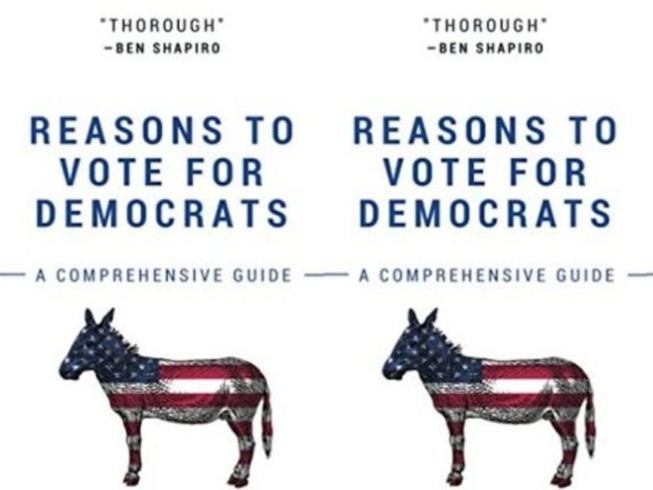 Sách toàn giấy trắng chế giễu đảng Dân chủ 'cháy hàng'