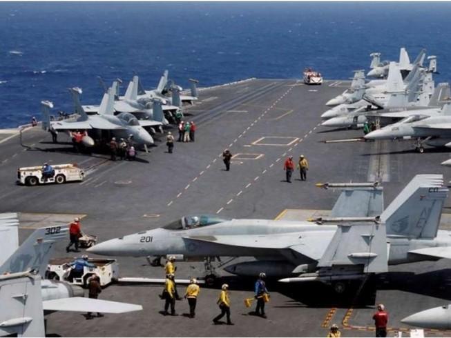 Mỹ-Nhật tập trận hải quân cảnh cáo Triều Tiên