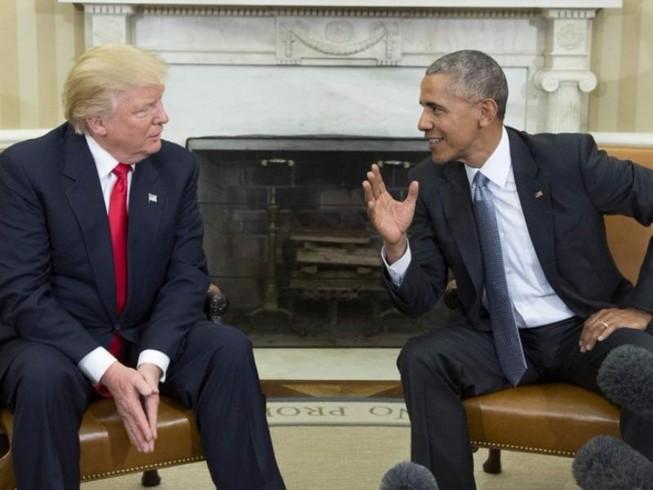 Lộ lá thư ông Obama viết cho ông Trump