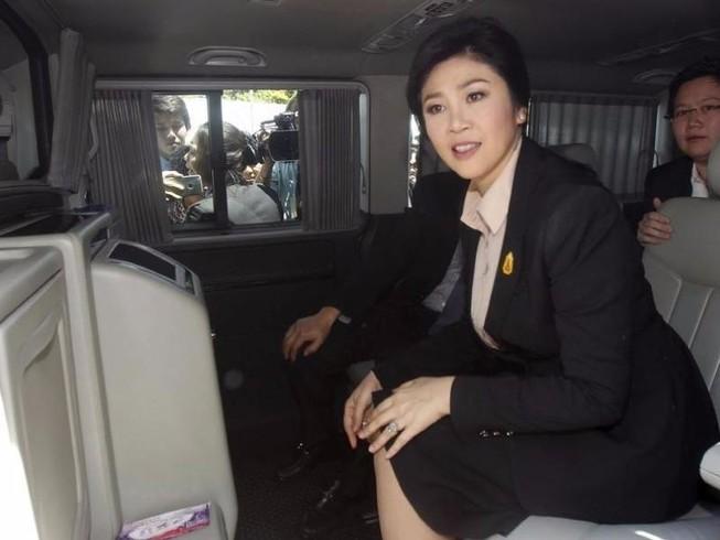 Bà Yingluck đã tráo xe tẩu thoát giữa Bangkok?