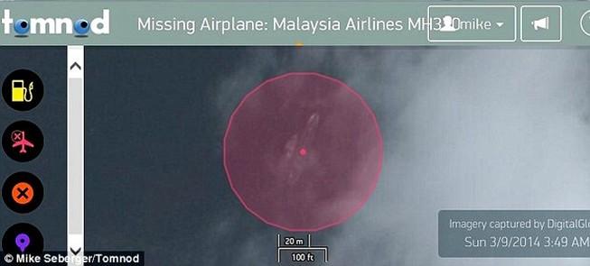 Phát hiện máy bay mất tích MH370 nằm dưới biển?
