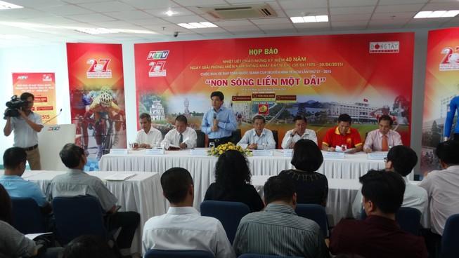 Tân Hiệp Phát tiếp tục đồng hành giải đua xe đạp HTV 2015