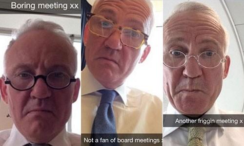Sếp ngân hàng mất việc sau khi con gái đăng tin nhắn của bố than chán họp