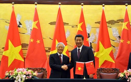 Toàn văn thông cáo chung Việt Nam-Trung Quốc ngày 8-4
