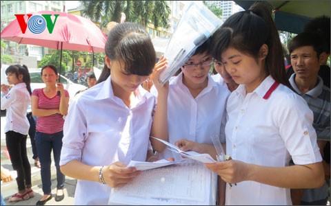 Những thông tin mới nhất dành cho thí sinh xét tuyển ĐH, CĐ 2015