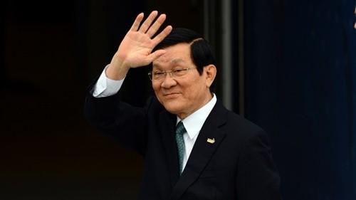 Chủ tịch nước Trương Tấn Sang sắp thăm Nga