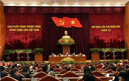 Nội dung hai ngày làm việc đầu tiên của Hội nghị Trung ương 11