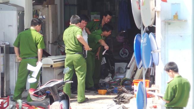 Nổ kinh hoàng tại cửa hàng điện lạnh, 1 người chết, 2 người trọng thương
