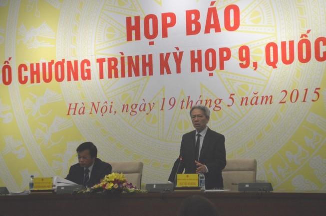 Kỳ họp QH thứ 9: QH không bàn việc sửa Điều 60 Luật BHXH