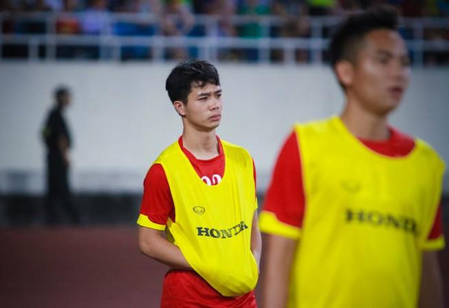 Vì sao Công Phượng mất suất tại đội tuyển quốc gia?