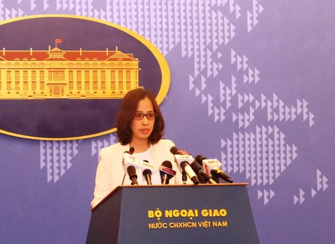 Kiểm tra thông tin tàu cứu hộ Việt Nam bị ngăn chặn trên biển Đông