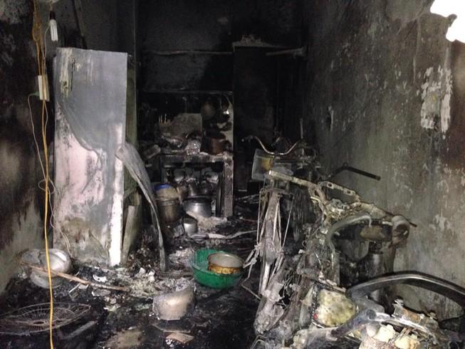 Cháy kinh hoàng ở Hà Nội, 5 người trong gia đình chết thảm khốc
