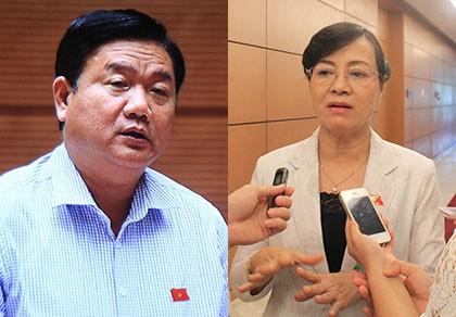 Cuộc tranh luận đặc biệt giữa Bộ trưởng Thăng và ĐB Quyết Tâm