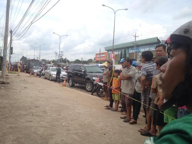 Thảm sát 6 người ở Bình Phước: Hiện trường được bảo vệ nghiêm ngặt