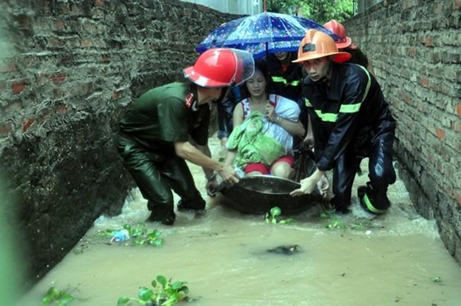 Chuẩn bị kịch bản đối phó với mưa lũ lớn ở miền Bắc