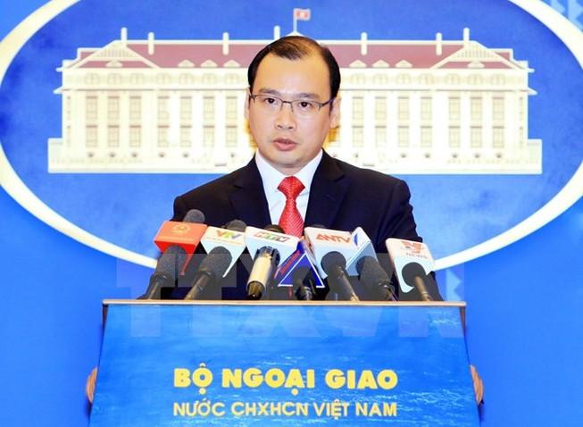 Yêu cầu Đài Loan chấm dứt hành động phi pháp trên đảo Ba Bình