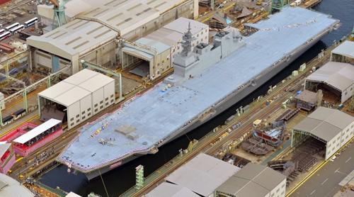 Uy lực chống ngầm của tàu sân bay trực thăng lớn nhất Nhật Bản