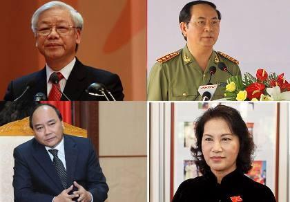 Ông Nguyễn Xuân Phúc được giới thiệu vào vị trí Thủ tướng