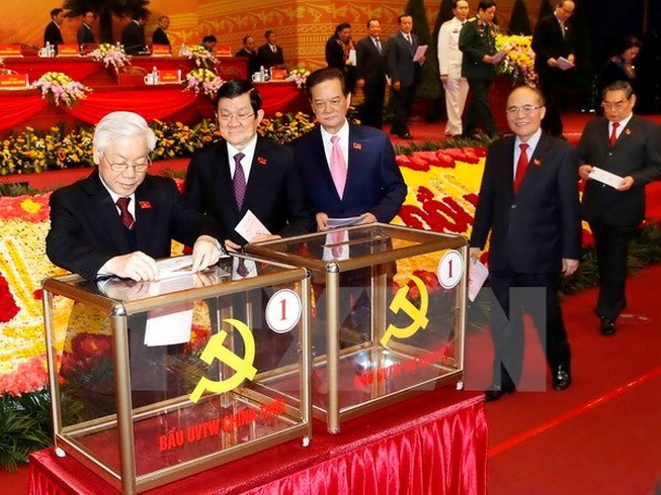 Công bố danh sách 200 Ủy viên Trung ương khóa XII