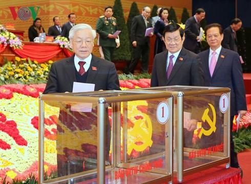 Ngày mai 27-1, Trung ương bầu Bộ Chính trị, Tổng Bí thư