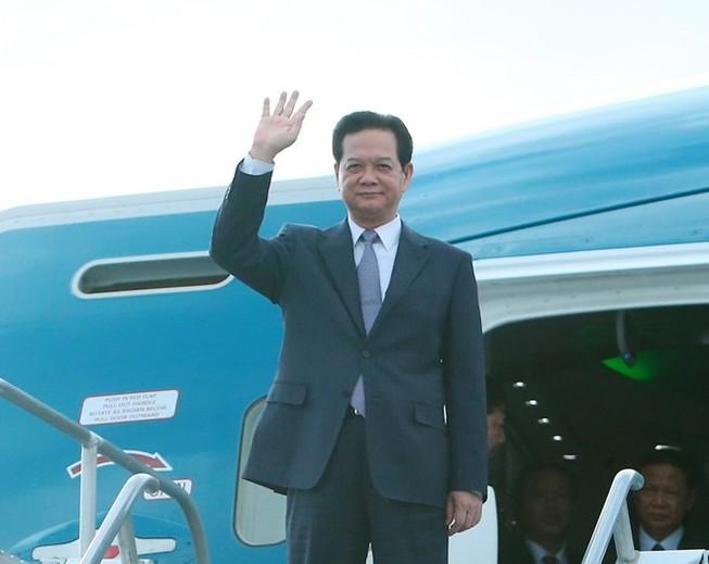 Thủ tướng tới California dự Hội nghị cấp cao ASEAN-Hoa Kỳ