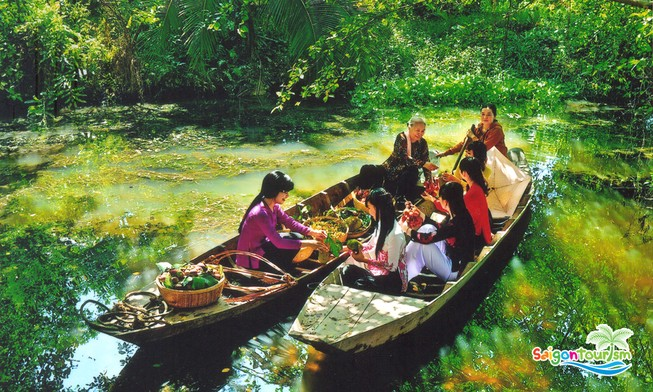 Doanh thu du lịch Cần Thơ đạt trên 1.700 tỉ đồng.