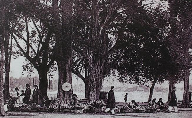 Chùm ảnh: Hồ Gươm hơn 100 năm trước