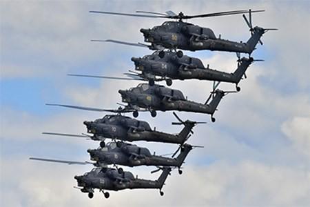 Nga đang thử nghiệm trực thăng 'Thợ săn đêm' phiên bản nâng cấp