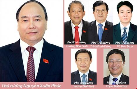 Phân công nhiệm vụ cụ thể của Thủ tướng và 5 Phó Thủ tướng