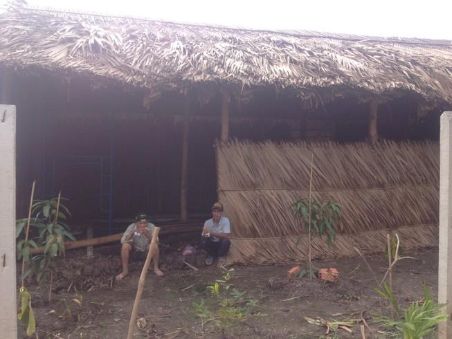 Lộ diện hình ảnh căn chòi vịt của ông Nguyễn Văn Bỉ