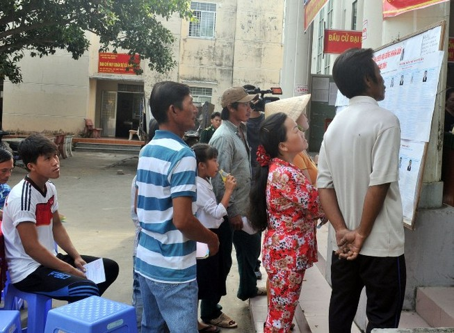 Bầu cử sớm 3 ngày ở xã đảo Thổ Châu