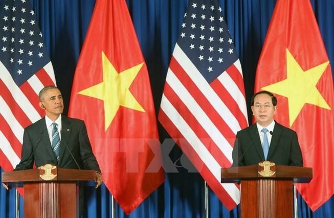 Toàn văn Tuyên bố chung giữa Việt Nam và Hoa Kỳ