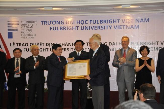 Bí thư Thăng hứa 'dành điều kiện tốt nhất' cho ĐH Fulbright Việt Nam
