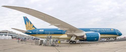 Boeing 787-9 Dreamliner sẽ bay tuyến Hà Nội - TP.HCM