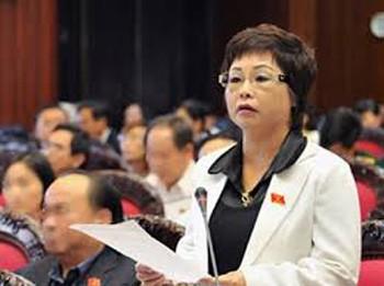 Bà Châu Thị Thu Nga bị bãi nhiệm tư cách ĐBQH