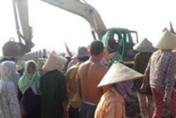 Vụ xe bánh xích đè người: Lan truyền thông báo giả của VSIP Hải Dương