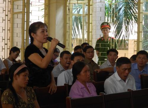 Vụ ông Chấn: Cuộc 'rượt đuổi' giữa HĐXX và nhân chứng Nguyễn Thị Thu Hà