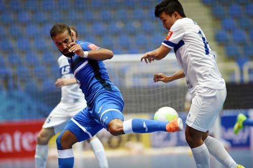 Thái Sơn Nam vào tứ kết Futsal Cúp C1 châu Á